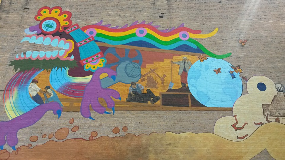 mural in Chicago by artist Juan-Carlos Perez