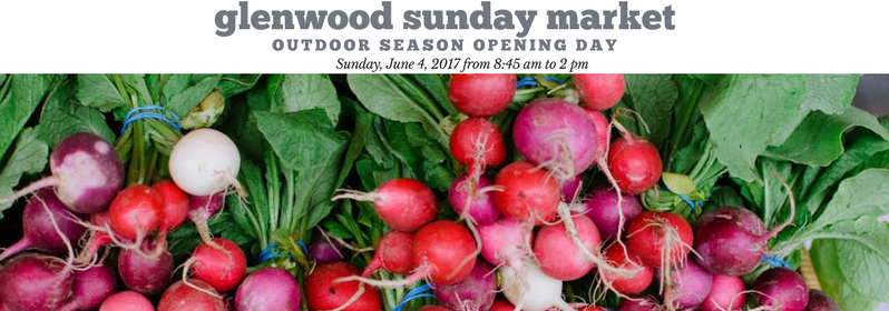 Glenwood Sunday Market Outdoor Season 2017