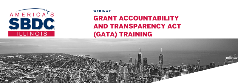 Grant Accountability and Transparency Act (GATA) Training